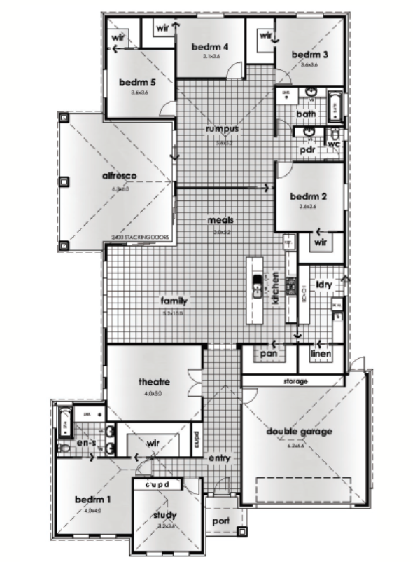 The Bordeaux 30 Harwood Homes