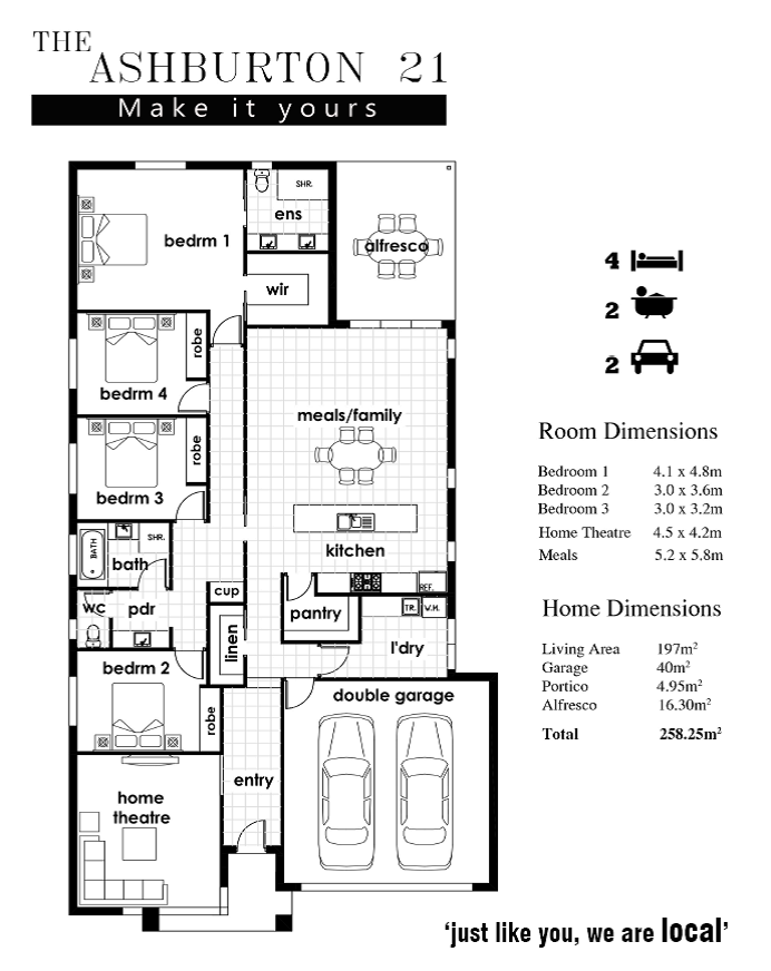 ashburton floorplan
